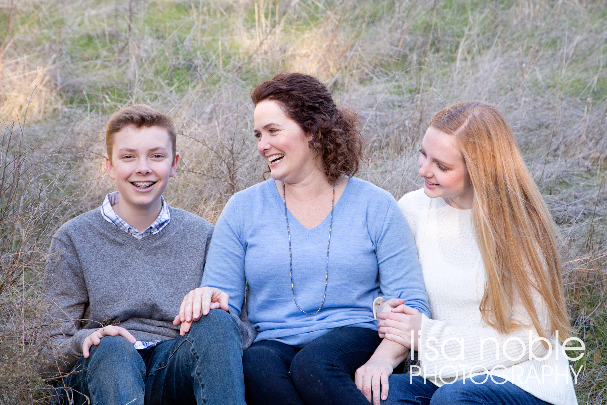 Bay Area professional family photgraphy in the Golden California Hills
