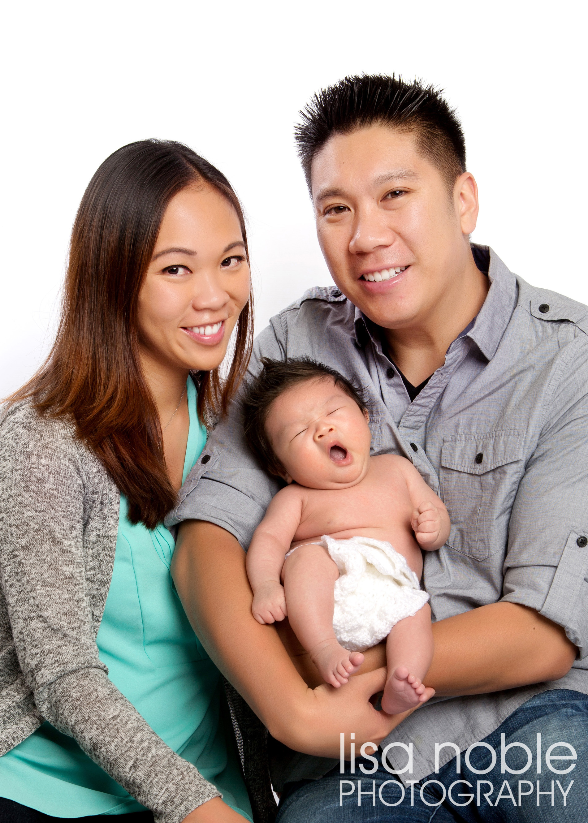 Bay Area Professional Newborn Baby Photography by Lisa Noble