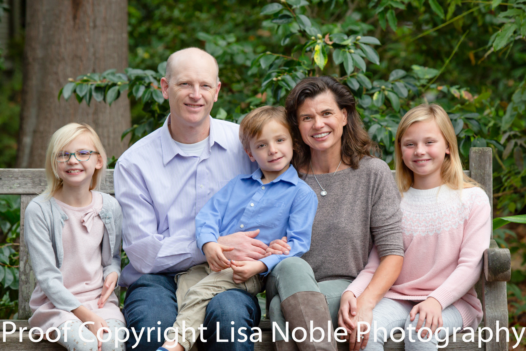Family portrait at Bay Area Professional Family Photography